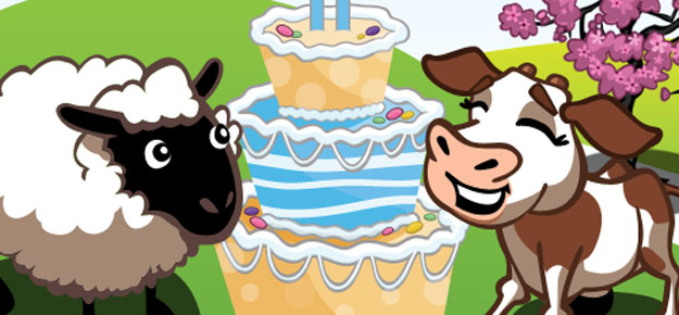 farmville second birthday goals