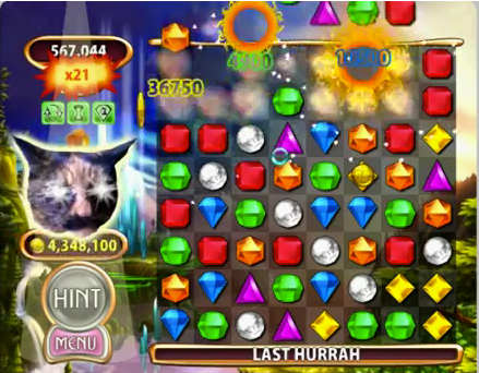 Bejeweled Blitz Cat's Eye