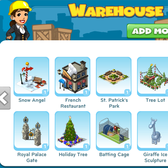 CityVille: Zynga ups storage to 26 items, but only for certain players