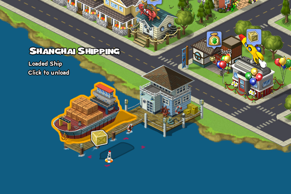 CityVille Shipping