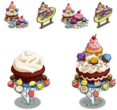 FarmVille Cupcake Tree