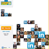 DropIn on LinkedIn with its first ever social game