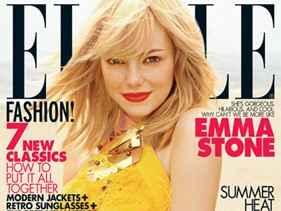 Emma Stone on ELLE