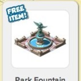 Empires & Allies: Park Fountain added as free RewardVille item