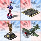 Empires & Allies goes patriotic with July 4th decorations and military units