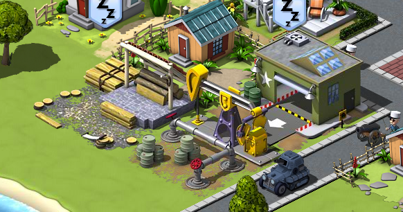Empires & Allies Oil Well