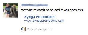 Zynga promotions scam