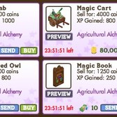 FarmVille re-releases Agricultural Alchemy items for one day only