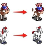 FarmVille: Go patriotic with July 4th Cow and Horse
