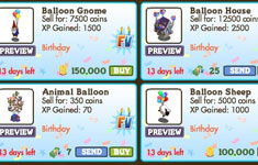 farmville second birthday  animals