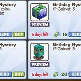 FarmVille: Birthday Mystery Boxes are back for one week