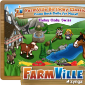 FarmVille: Swiss items return for one day only as Birthday Classics
