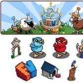 FarmVille Sneak Peek: FarmVille's Second Birthday items