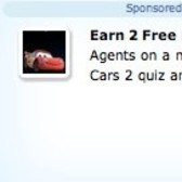 Earn 2 free FarmVille Farm Cash in Cars 2 Promotion