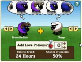 farmville sheep breeding conga line
