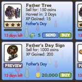 FarmVille: Celebrate dad with new Father's Day items in the market