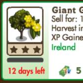 FarmVille: Giant Gorse Tree now 5 Farm Cash, pick one up on the cheap
