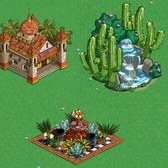 FarmVille Mexico Items: Take in the scenic beauty with a Hacienda Garden, Mexican Waterfall and more