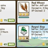 FarmVille: English Countryside crops are no longer exclusive to the second farm