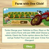 FarmVille Turbo Chargers: Plow, Plant or Harvest your entire farm with one click