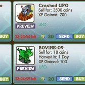 FarmVille: Returning UFO items are out of this world
