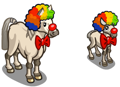 Clown Pony and Foal