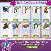 FarmVille 2nd Birthday Countdown: Collect all 12 items to celebrate