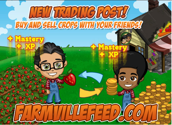 FarmVille Trading Post promo