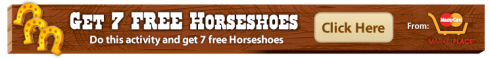 FrontierVille 7 free horseshoes