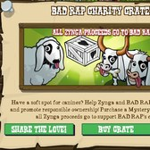 FrontierVille: Help protect dogs by purchasing the BAD RAP Charity Crate