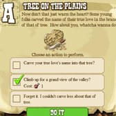 FrontierVille Pioneer Trail: Choose your own adventure elements will customize your game