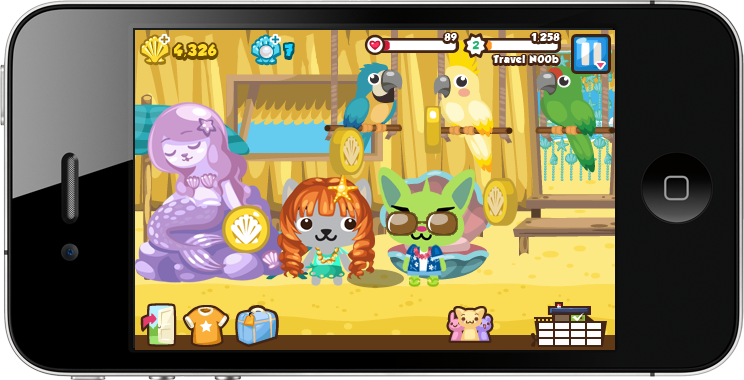 Pet Society Vacation iOS
