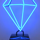 Bejeweled neon diamond lamp lights up PopCap's Week 3 charity auction