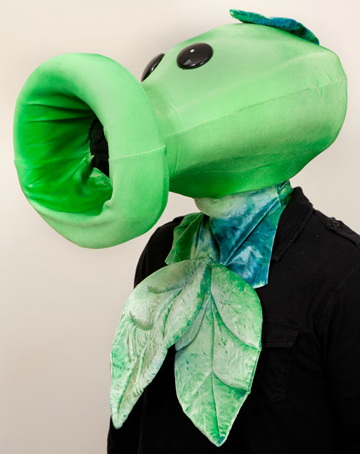 Plants vs. Zombies peashooter costume