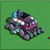 FarmVille Pink and Red Combines: Pay big Farm Cash for big harvests