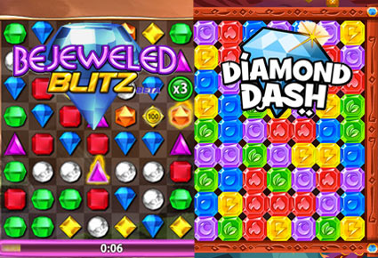 bejeweled diamond