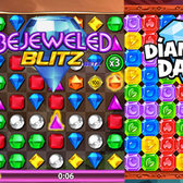 Facebook Game Faceoff: Bejeweled Blitz vs Diamond Dash