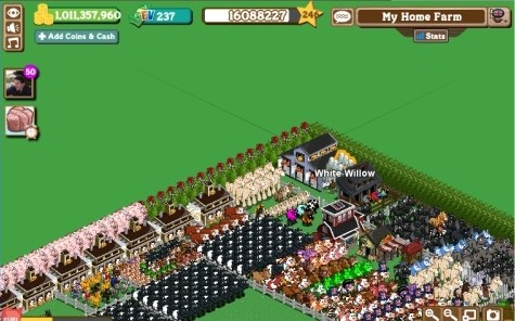 MaFarm's farm with 1 billion coins