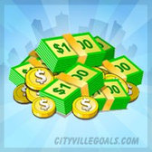 Buy City Cash in CityVille, score free items for a limited time