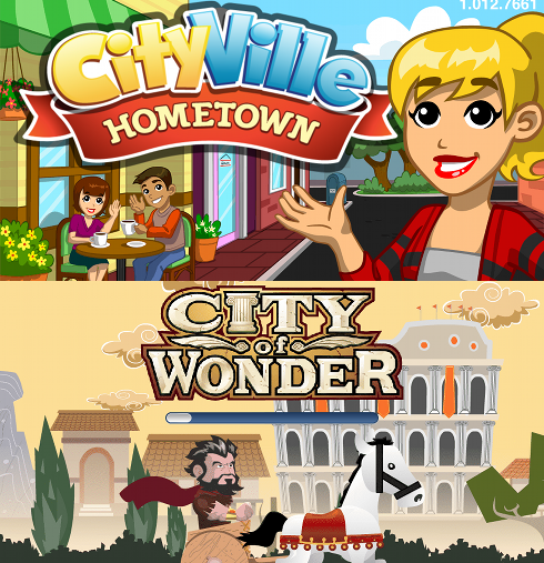 CityVille Hometown vs City of Wonder