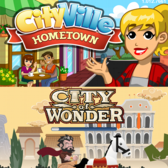 Facebook Game Faceoff (iPhone Edition): CityVille Hometown vs City of Wonder