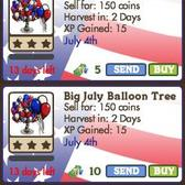 FarmVille: July Balloon Trees are so fun, you'll hope they never pop