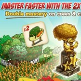 FarmVille 2X Mastery Statues double your stats, for a price