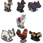 FarmVille French Animal Mystery Game (07/24/11): Win them all and earn a Unicorn for free
