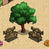 FarmVille: Parisian Bench free gift will let you sit in style
