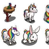 FarmVille Mystery Game (07/14/11): Rainbow items show off their colors