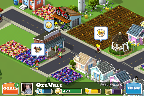 CityVille Hometown in action