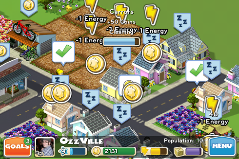 CityVille Hometown gameplay