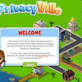 Zynga's PrivacyVille: A silly mini game about a serious issue