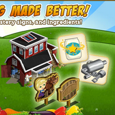 FarmVille Crafting Silo is here with new recipes and Mastery signs